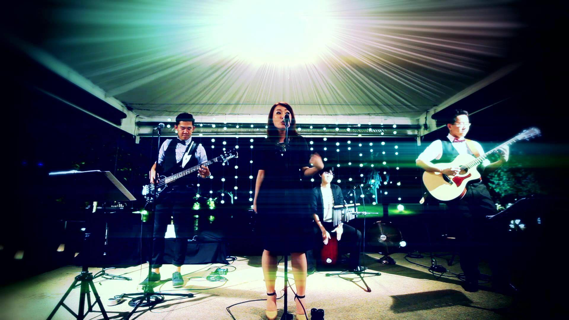 Wedding Event Live Band Kuala Lumpur Malaysia Happy Fish Beevers Pui San Female Vocal Give a Little Give a Little 201475114234